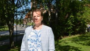 Kommunalpolitiker Åsa Björkman (SFP) från Larsmo