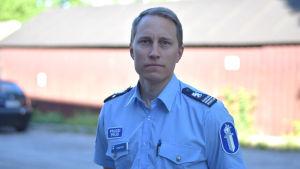 Porträttbild på kommissarie Markus Ramstedt.