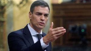 Spanska socialistledaren Pedro Sanchez