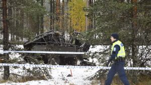 bild på järnvägsolycka