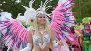 Sambadansare på Karleby pride.