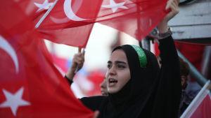 Valkampanj för AKP i Turkiet