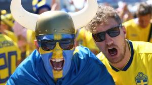 Svenska fans.