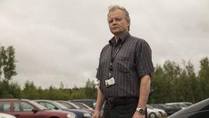 Henkilö kuvassa Pekka Holopainen Helsingin kaupungin ajoneuvojensiirtokeskuksen siirtopäällikkö