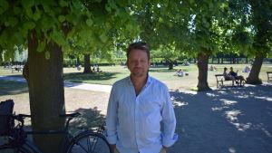 Peter Konow jobbar med förebyggande rusmedelsarbete i Köpenhamn