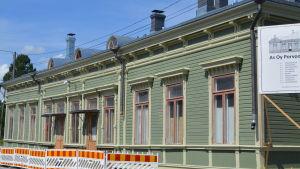 borgå järnvägsstation byggs om till bostäder