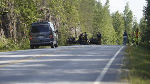 Bilolycka i Södra Savolax