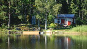 Sommarstuga i Småland, Sverige.