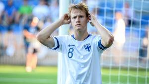Saku Ylätupa under U19 i Vasa.