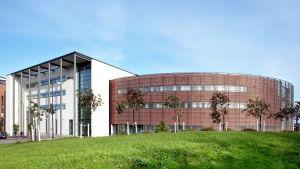 Yrkeshögskolan Arcadas huvudbyggnad i Helsingfors.
