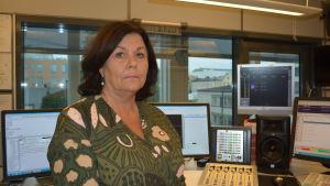 Vicerektor Hannele Teir vid yrkeshögskolan Centria