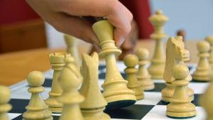schackspel på gång.