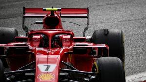 Kimi Räikkönens däck.