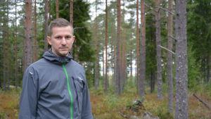 Planläggningsingenjör Jonas Asplund i Malax