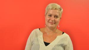 insamingschef Heidi Juslin-Sandin på Röda korset