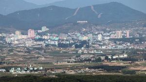 Den nya sambandsbyrån öppnas i en sydkoreansk industripark i den nordkoreanska staden Kaesong som ligger nära gränsen mellan länderna