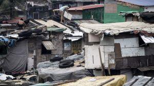 Husen är inte skapta för att klara av tyfoner.