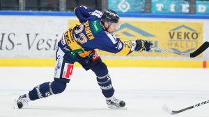 Lauri Tukonen har spelat klart i Lukko.