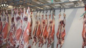 Kött som hänger