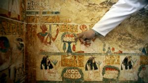 Gravfynd i Luxor, Egypten