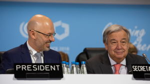 FN:s generalsekreterare Antonio Guterres