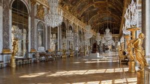 Spegelsalen i Versailles.