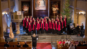 Kören Qvinn Ton sjunger de vackraste julsånger