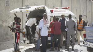 Bilbombsexplosion i Mogadishu