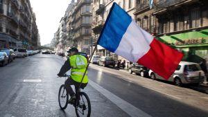 Demonstration i Paris 22.12.2018