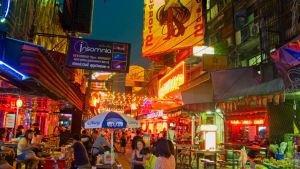 Bangkok på natten.
