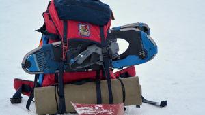 Räddningspersonalens utrustning.
