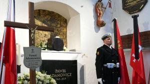 Begravning i Gdansk