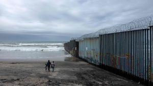 Mur mellan USA och Mexiko