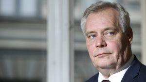 Socialdemokraternas partiordförande Antti Rinne.