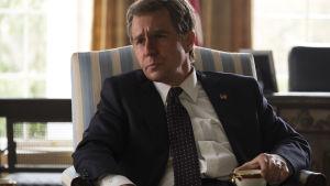 Sam Rockwell poserar som president George W. Bush.