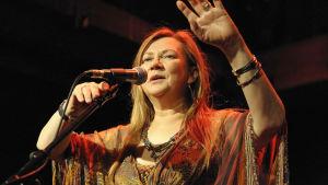 Samiska sångerskan Mari Boine