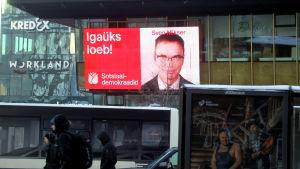Den nuvarande utrikesministern Sven Mikser representerar Socialdemokraterna i Estland.