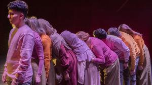 Bild från föreställningen Mashallah.