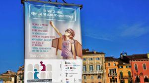 Familjemarsch i Verona