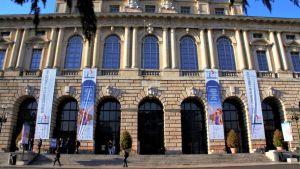 Palatset som Veronas borgmästare upplåtit till Världkongressen för familjer som samlade konservativa organisationer från USA till Ryssland
