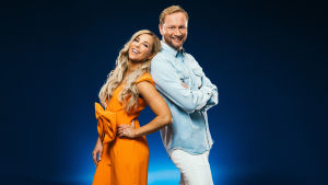 Krista Siegfrids ja Mikko Silvennoinen