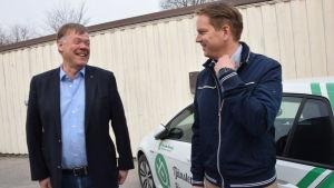 Björn Siggberg och Frank Hoverfelt.