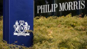 Tobaksbolaget Philip Morris internationella huvudkontor i Lausanne i Schweiz.
