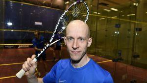 Olli Tuominen spelade 22 år som squasgproffs