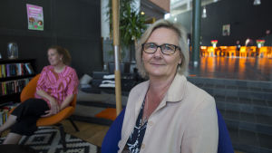 Laila Andersson rehtori oppilaitosessa Prakticum.