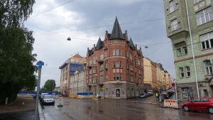 Tallbergska huset på Skatudden i Helsingfors.
