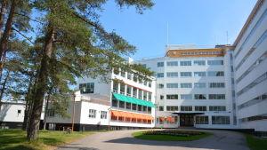 Pemars sanatorium sett framifrån.