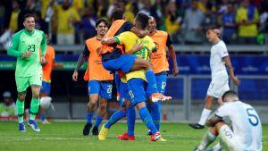 Brasilen besegrade Argentina i Copa América.