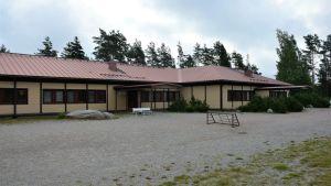 Lappvik skola och Lappohjan koulu i Hangö.