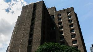 Häktet Manhattan Correctional Center där Jeffrey Epstein hittades död i sin cell